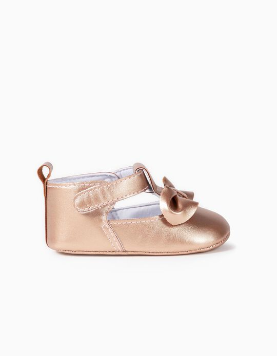 Shoes with Velcro and bow
