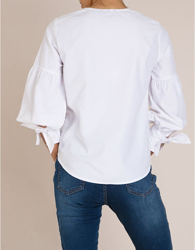 Camisa Mangas Balão