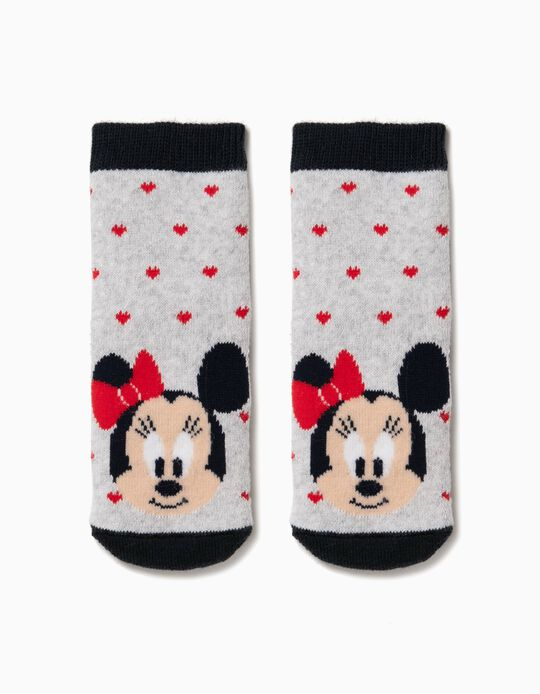 Meias Antiderrapantes Minnie