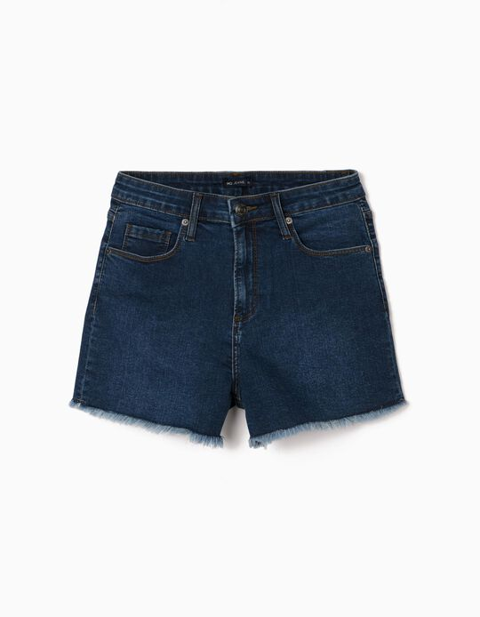 Denim Shorts, Frayed