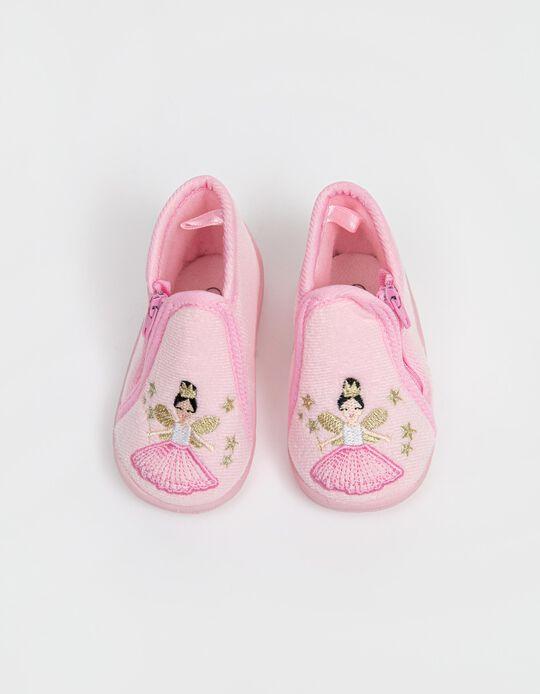 Slipper Boots, Baby Girls, Pink
