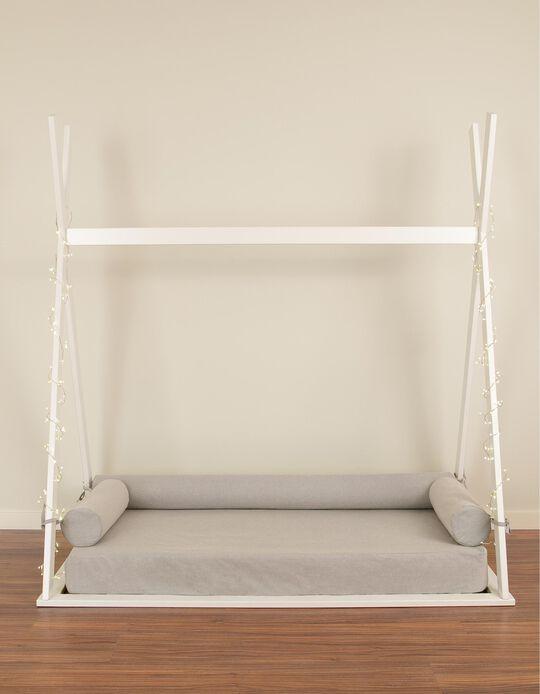 Capa de colchão + 3 almofadas para Tipi Zy Baby