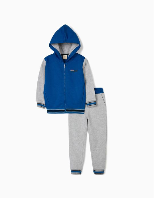Tracksuit for Boys 'ZY', Blue/Grey