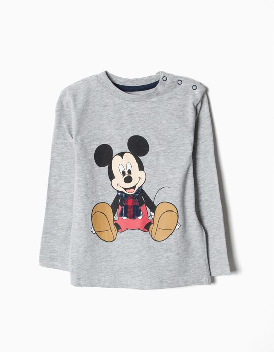 T-shirt Manga Comprida Mickey