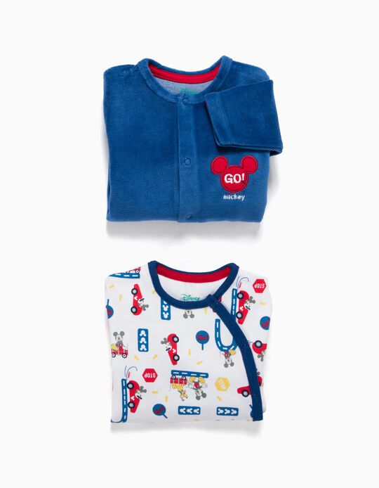 Pack 2 Babygrows Mickey