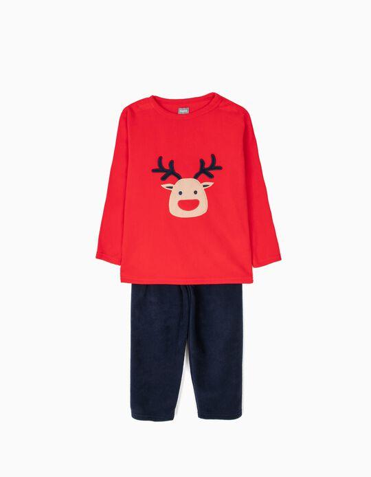 Conjunto de pijama malha polar Rena