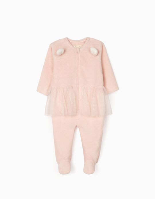 Onesie for Baby Girls, Pink