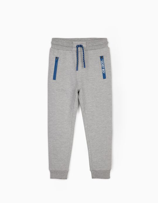 Joggers for Boys, 'Rocket Boy', Grey