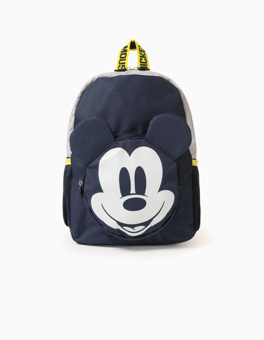 Backpack for Baby Boys 'Mickey Mouse', Dark Blue/Grey