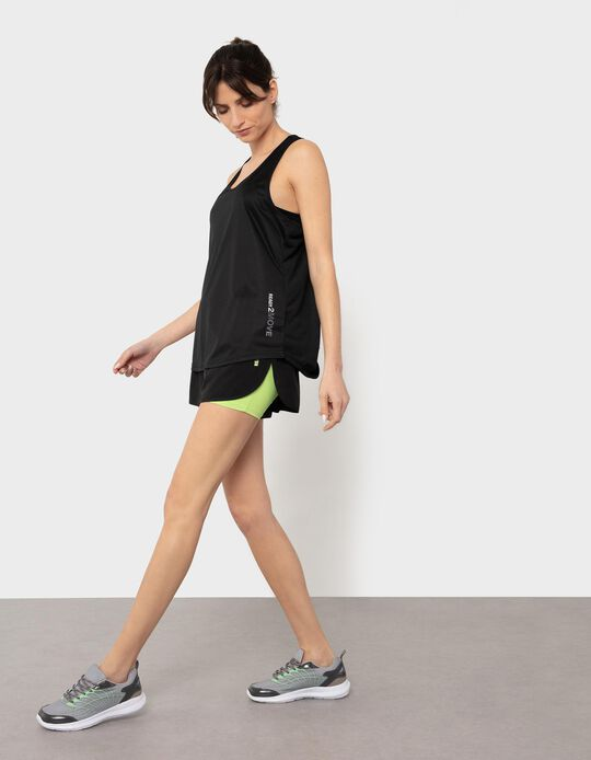 2-in-1 Sports Shorts, for Women