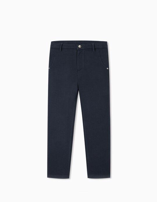 Trousers for Girls, Dark Blue