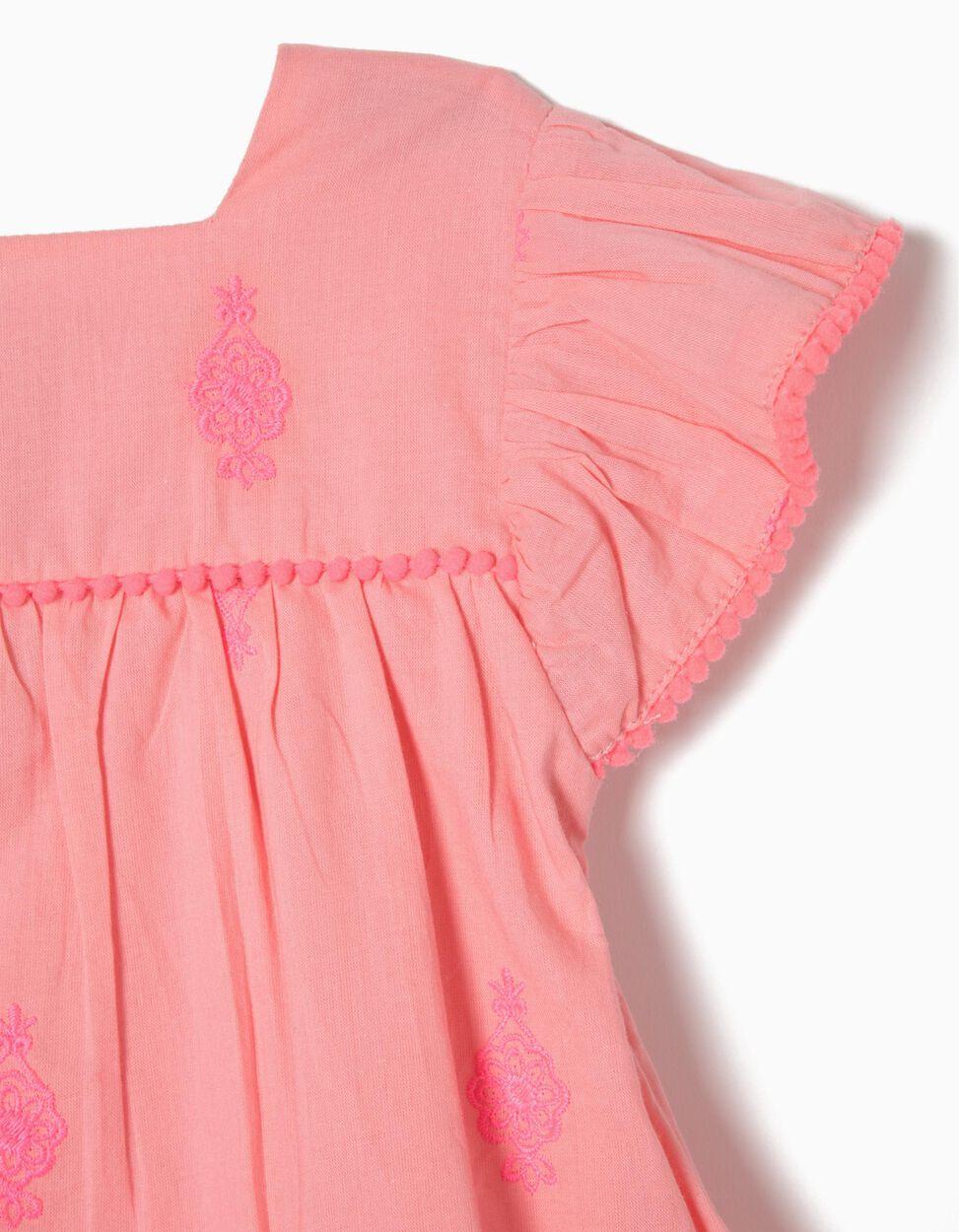 Conjunto Vestido e Tapa Fraldas