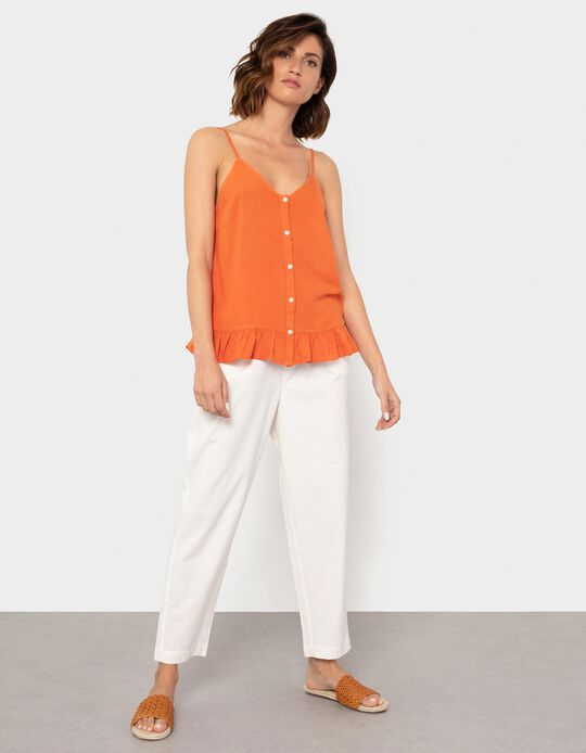 Cotton & Linen Trousers, for Women