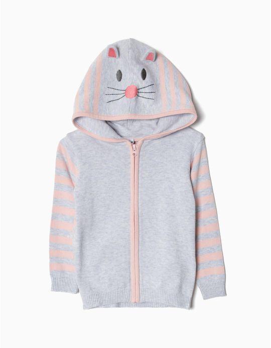 Casaco Malha Bunny
