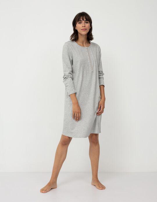 Nightie for Women, Grey