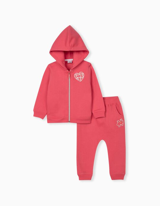 Tracksuit for Baby Girls, Pink