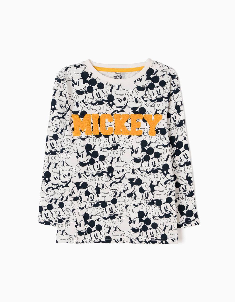 T-shirt Manga Comprida Mickey Mouse