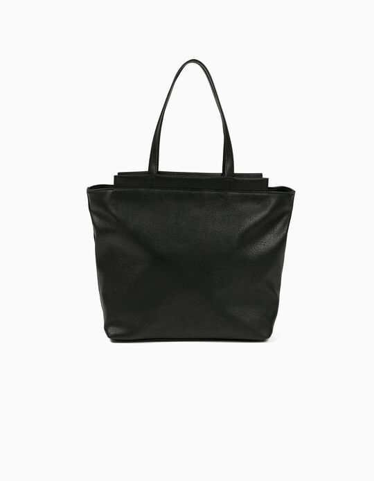 Shopper Bag in Synthetic Leather