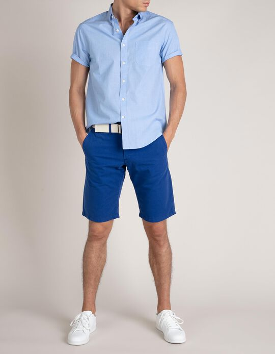 Straight Leg Chino Shorts