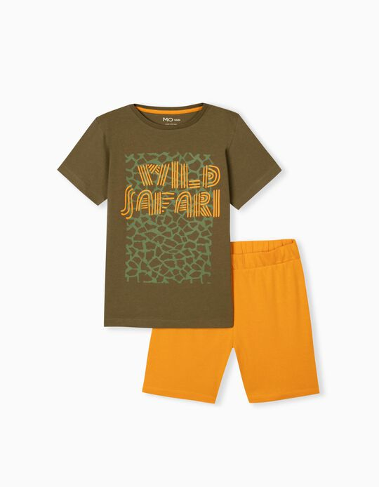 T-shirt and Shorts for Boys