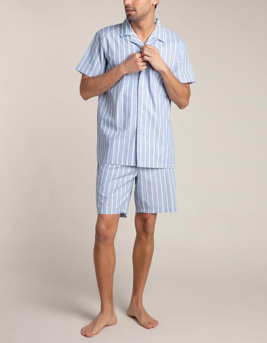 Conjunto Pijama às Riscas