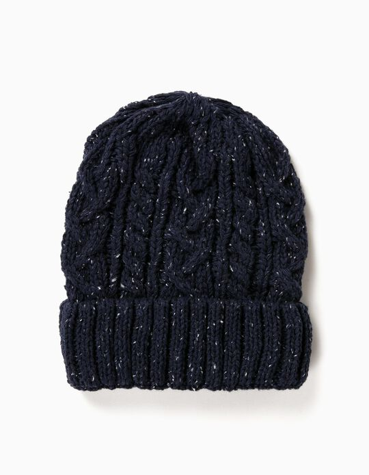Fancy Knit Beanie