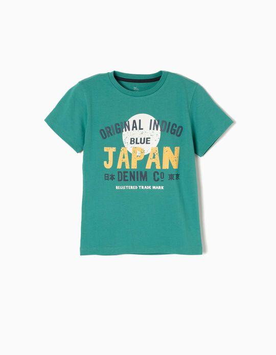 T-shirt Japan Verde