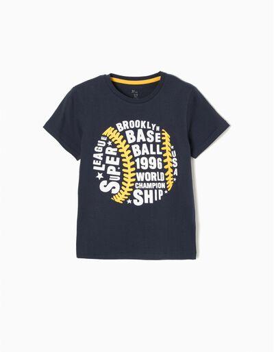 T-shirt EUA Cinzenta