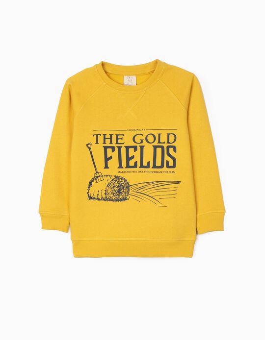 Sweatshirt for Boys 'Gold Fields', Yellow