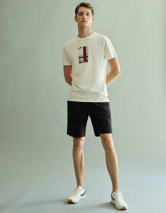 T-shirt in Organic Cotton, White