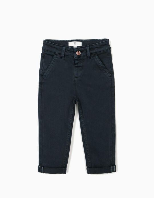 Chinos for Boys, Dark Blue