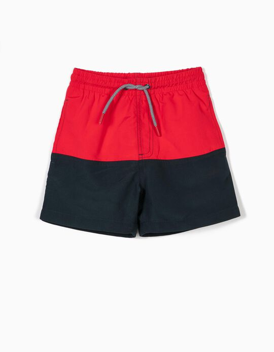 Two-Tone Swim Shorts