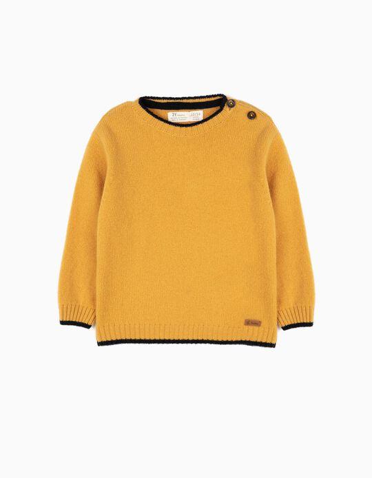 Camisola de Lã Amarela