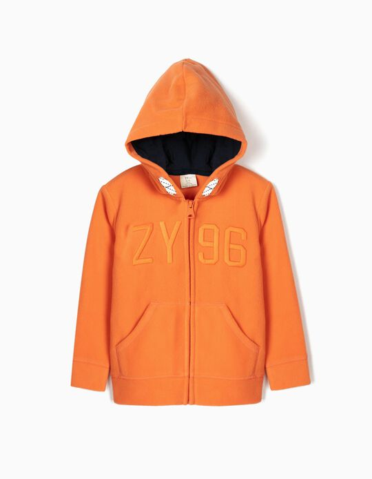 Casaco Polar para Menino 'ZY 96', Laranja