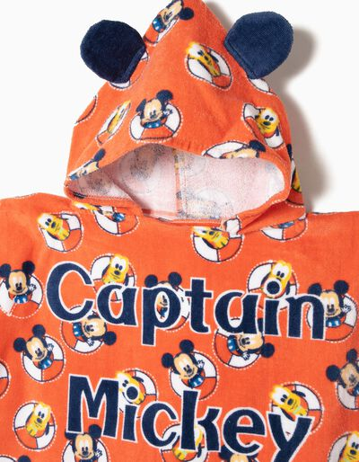 Poncho de Praia Captain Mickey