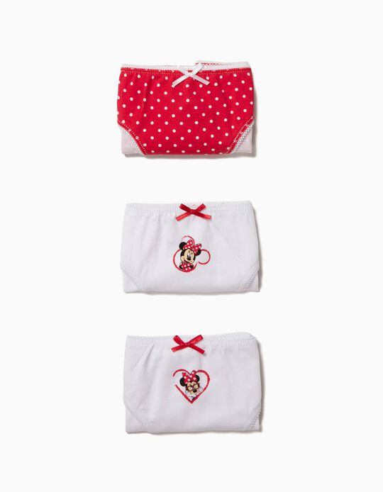 Pack of 3 Briefs, Minnie
