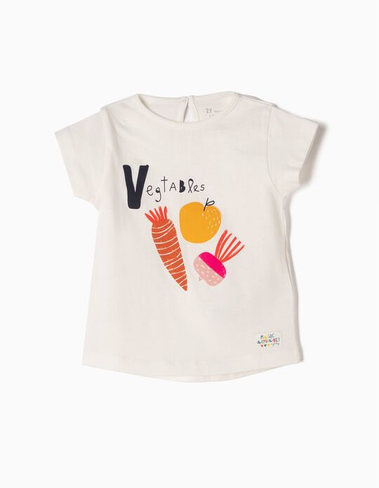 Printed T-Shirt, Veggies