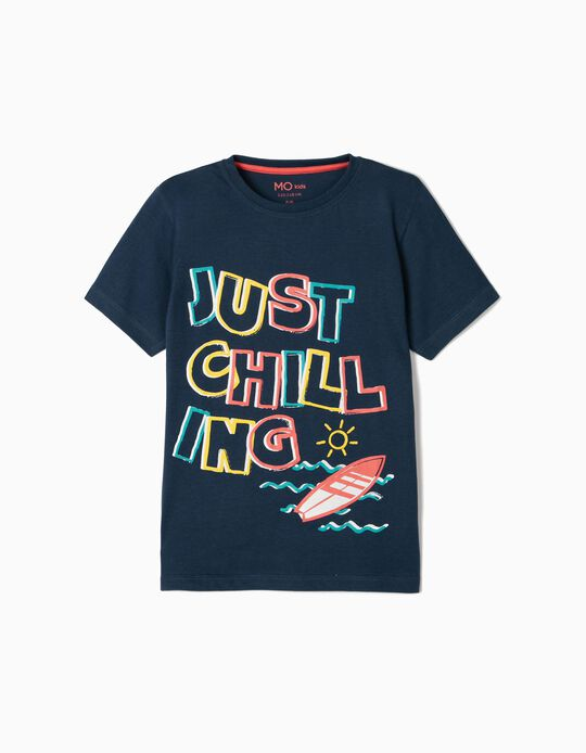 T-shirt for Boys, 'Chilling'