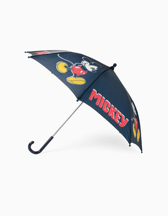 Umbrella for Boys 'Mickey', Dark Blue