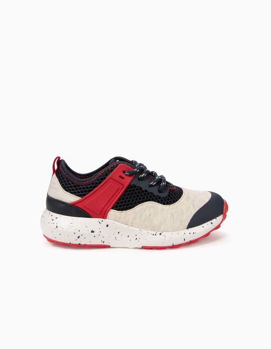 Trainers for Boys 'ZY Superlight Runner', Blue/Red