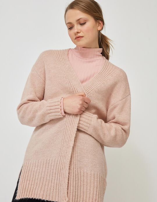 Pink Cardigan, for Women