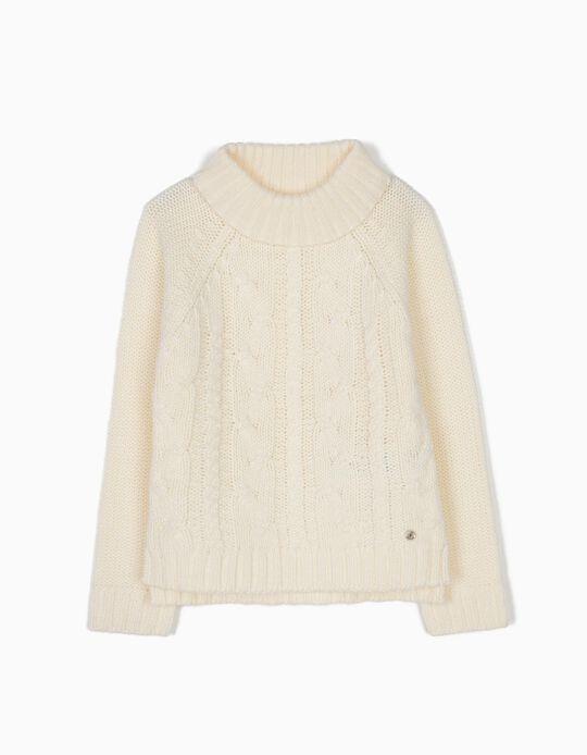 Camisola de Malha Branca