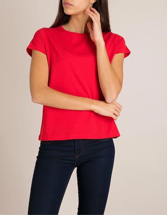 T-Shirt Algodão Vermelha