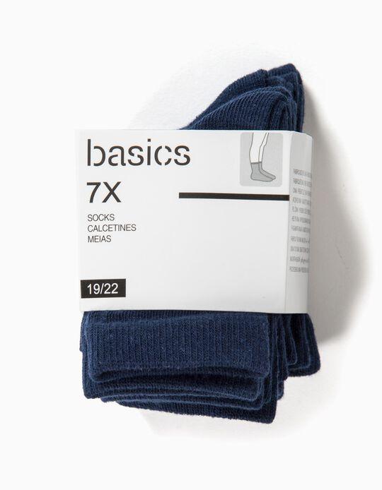 Pack of 7 Pairs of Socks