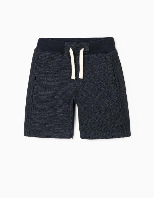 Sports Shorts for Boys, Dark Blue