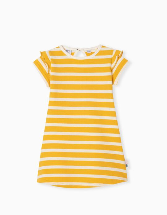 Organic Cotton Dress, Baby Girls