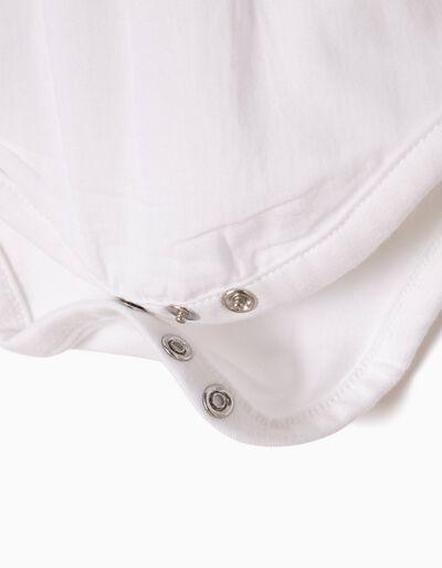 Body Blusa Manga Comprida Branco
