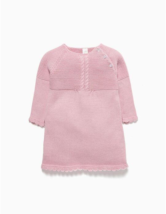 Knit Dress for Newborn Girls