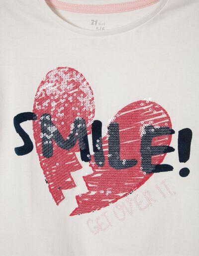 T-shirt Rosa com Nó Mood