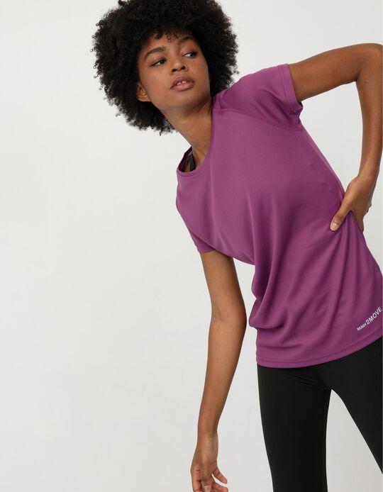 Techno Sports T-shirt for Women, Pink